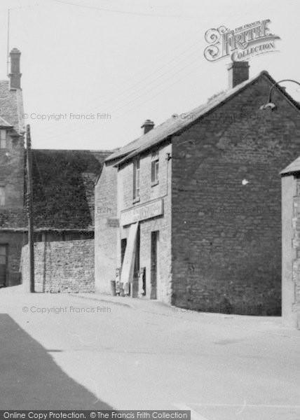 Photo of Northleach, Village Shop c.1960