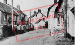 Queen Street c.1960, Northlew
