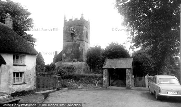 Photo of Northlew, St Thomas Of Canterbury Church c.1960