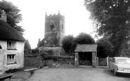 Northlew, St Thomas of Canterbury Church c1960