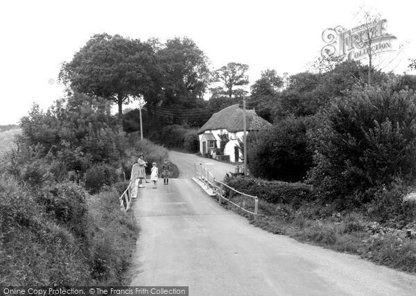 Northlew, the Bridge 1961