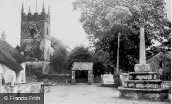 The Church And Cross c.1960, Northlew