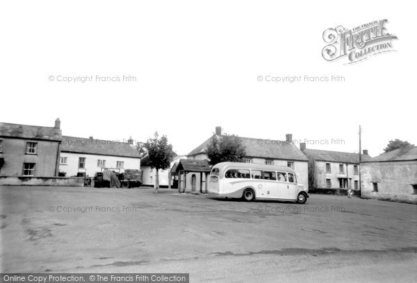 Northlew, the Square 1961