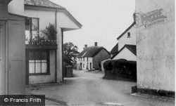 The Village c.1960, Northlew