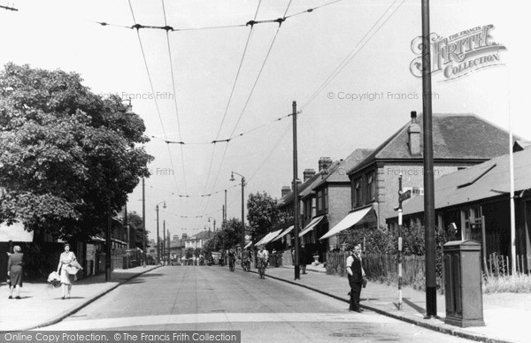 Photo of Northumberland Heath, Bexley Road c.1955