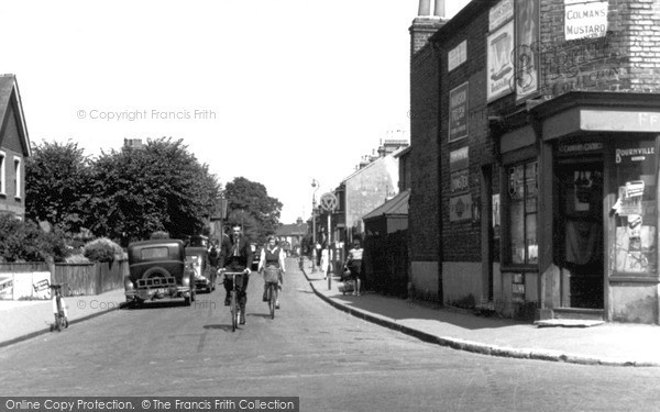 Photo of Northumberland Heath, Mill Road c.1955