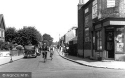 Mill Road c.1955, Northumberland Heath