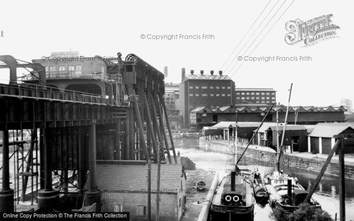 Northwich, Anderton Boat Lift c.1960