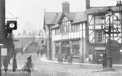 Northwich, Bull Ring c.1900