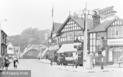 Northwich, Bull Ring c.1950