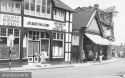 Northwich, Businesses At The Bull Ring c.1960