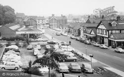 Northwich, Castle Street Car Park c.1965
