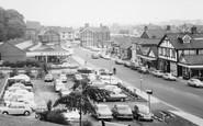 Northwich, Castle Street Car Park c1968
