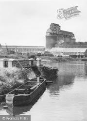 Northwich, Chemical Works From Winnington Bridge c.1955