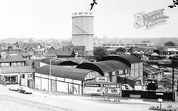 Northwich, General View c.1965