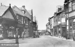 Northwich, High Street c.1925