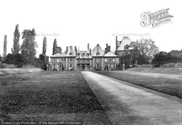 Photo of Northwich, Marbury Hall 1898, ref. 42146