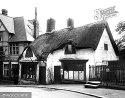 Northwich, Old Houses 1903