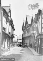 Northwich, Old Market Hall c.1920