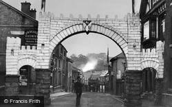 Northwich, Salt Arch, Witton Street 1897