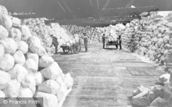 Northwich, Salt Warehouse, Ashton Salt Works c.1900