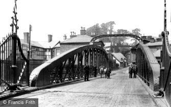Northwich, Swing Bridge 1900