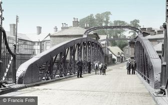 Northwich, Swing Bridge 1900