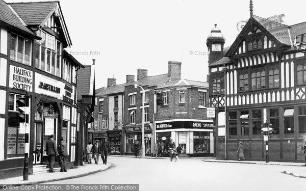 Northwich The Bull Ring C 1955 Francis Frith