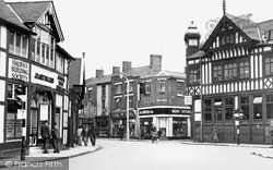Northwich, The Bull Ring c.1955