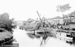 Northwich, The River Weaver c.1955