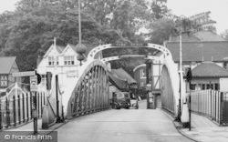 Northwich, The Town Bridge c.1960