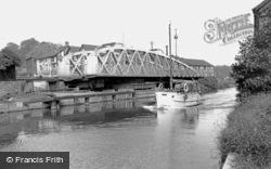 Northwich, Town Bridge c.1960