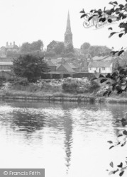 Northwich, Town From The River c.1960