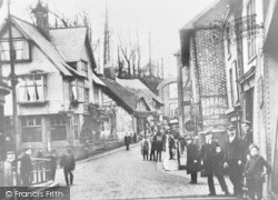 Northwich, Winnington Hill c.1900