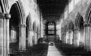 Northwich, Witton Church interior 1898