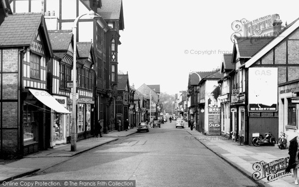 Northwich Witton Street C 1960 Francis Frith
