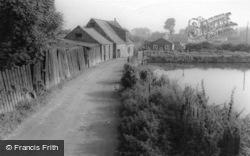 Norton, Beck Mills c.1965, Norton-on-Derwent