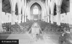 Norton, Church Interior c.1960, Norton-on-Derwent