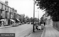 Norton, Commercial Street c.1960, Norton-on-Derwent