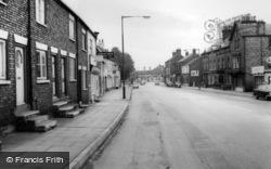 Norton, Commercial Street c.1965, Norton-on-Derwent