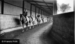 Norton, Exercising At Highfield Stables c.1960