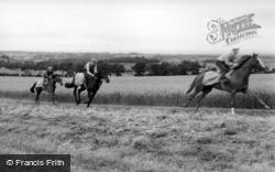 Norton, Exercising At Highfield Stables c.1960, Norton-on-Derwent