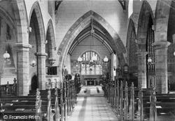 Norton In Hales, Church Interior 1911