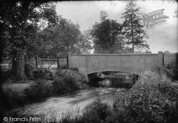 Norton In Hales, New Bridge 1911
