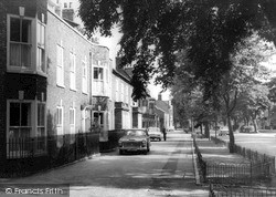 Norton On Tees, Georgian Houses, The High Street c.1965