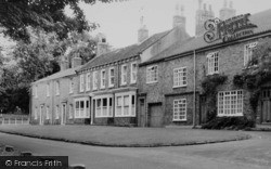 Norton On Tees, Houses By The Village Green c.1965