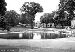 Norton On Tees, Pond And Village Green c.1955