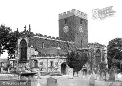 Norton On Tees, St Mary The Virgin Church c.1955