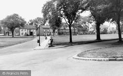 Norton On Tees, Village Green 1951