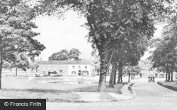 Norton On Tees, Village Green And Pond c.1955